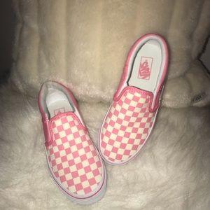 Brand NEW Kids Checkered Vans